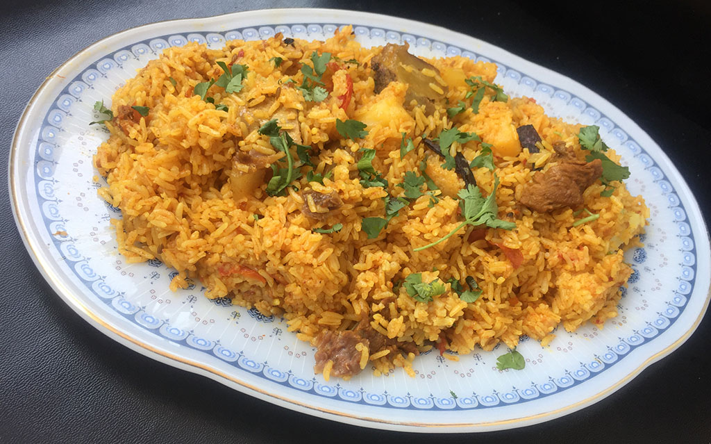 Memoni Akhni Mutton With Rice Tasted Recipes