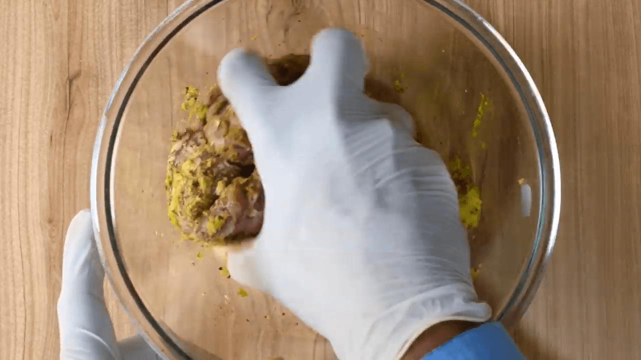 Green Mutton Chops step-1