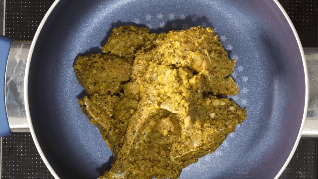 Green Mutton Chops step-2