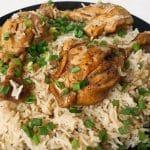 Caribbean Jerk Chicken With Rice