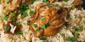 Caribbean Jerk Chicken With Rice