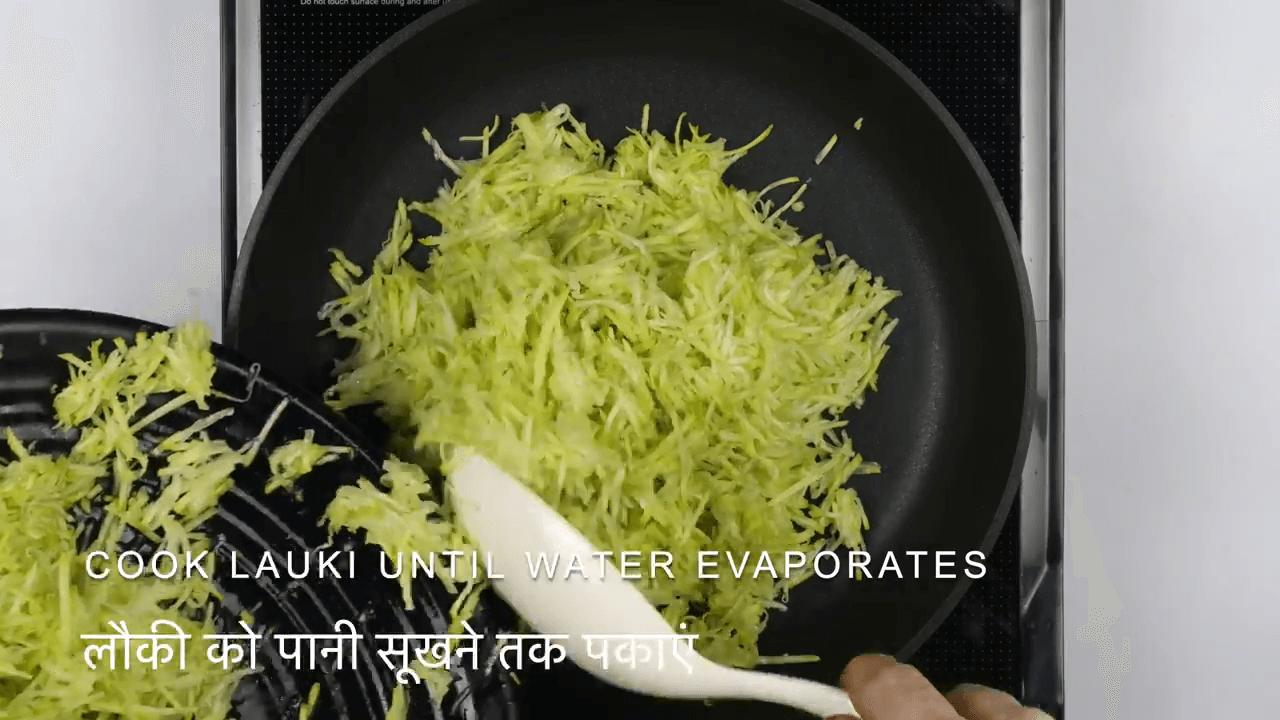 Dudhi Halwa step-2