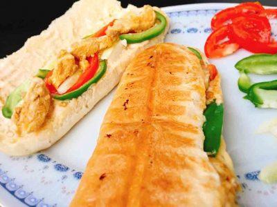 Foot Long Chicken Sandwich