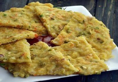Maggi veg omlette
