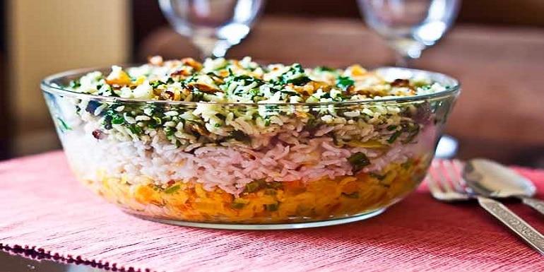 Three Layered Rice Recipe