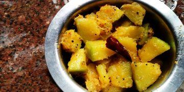 South Indian Pumpkin Fry