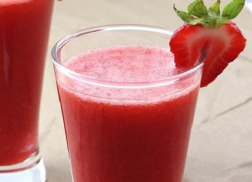 strawberry juice recipe
