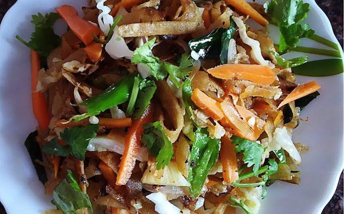 Chapati Ribbon Noodles Recipe 1