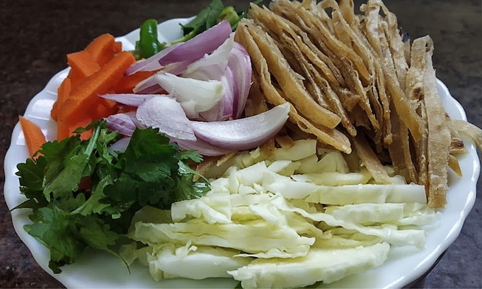 Chapati Ribbon Noodles Recipe 2