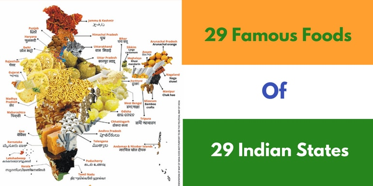Famous Recipes From Each States Of India