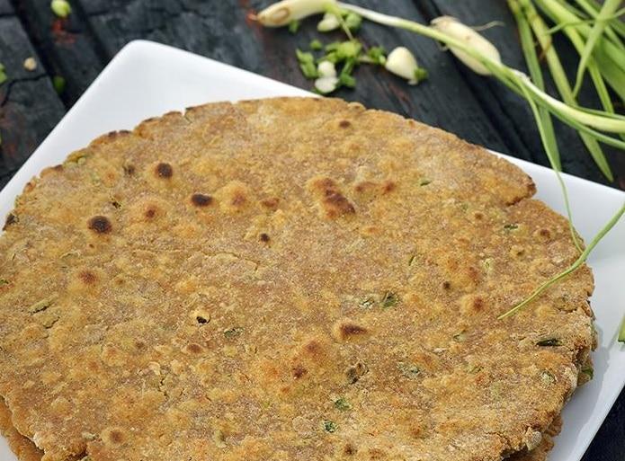 garlic roti- lehsun roti