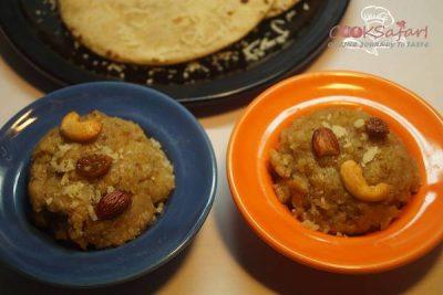 leftover chapati halwa