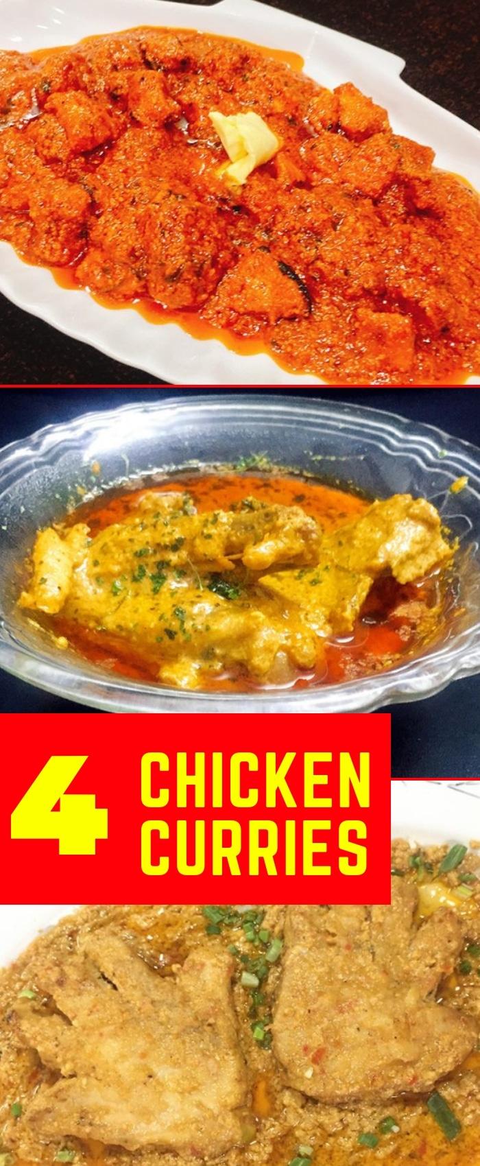 chicken curries