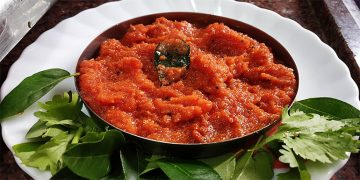 Raw Onion Tomato Chutney Recipe