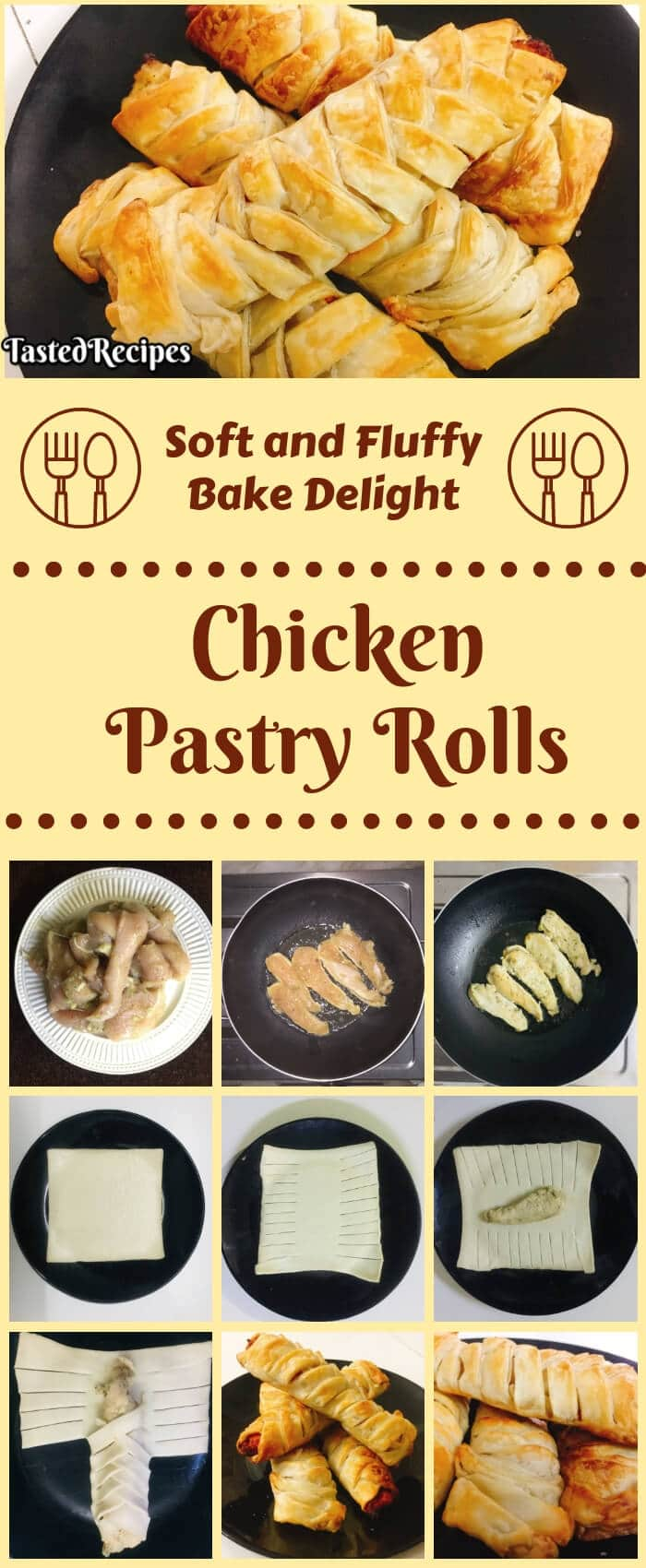 Chicken Pastry Roll