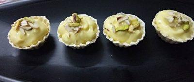 Mango Shrikhand Tart