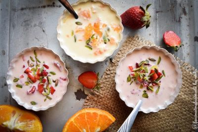 Strawberry-and-orange rabdi-tasted-recipes