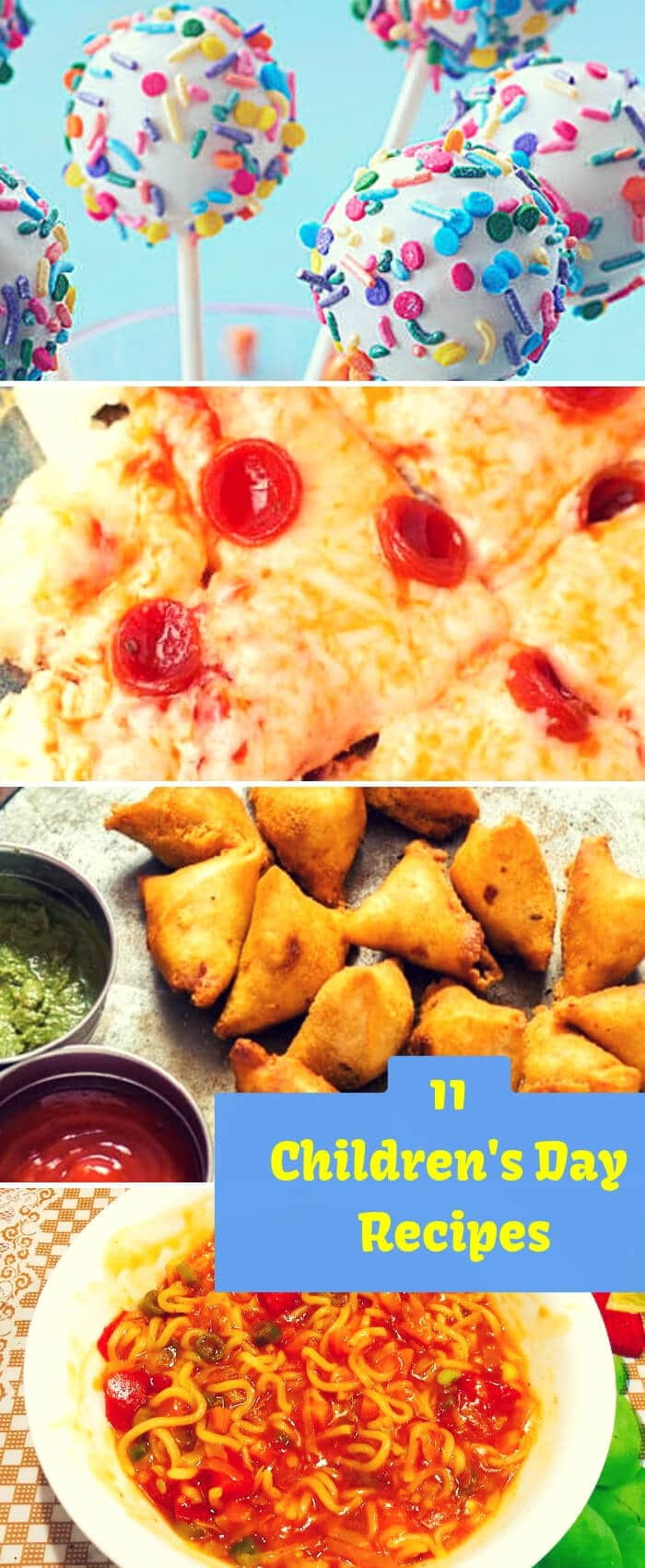 Children's day Recipes