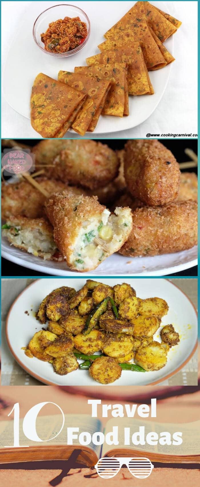 travel foods pinterest