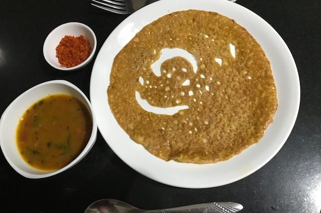 Jain Jowar Dosa