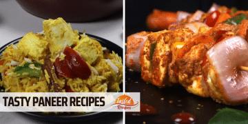 Paneer Recipes - Tasty Indian Paneer Items
