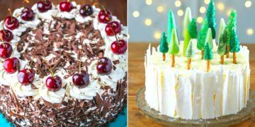 16 Amazing Christmas Cake Recipes For Christmas Eve