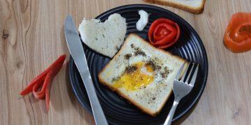 Egg In A Hole Recipe - Easy Breakfast Recipe
