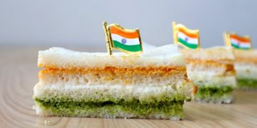 Tiranga Sandwich Recipe With No Artificial Color
