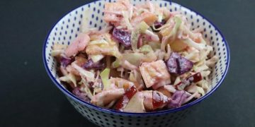 cabbage pineapple salad