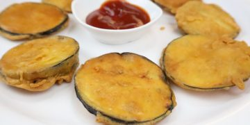 brinjal fritters