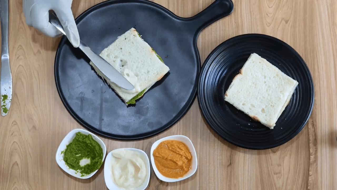 Tiranga Sandwich step-1