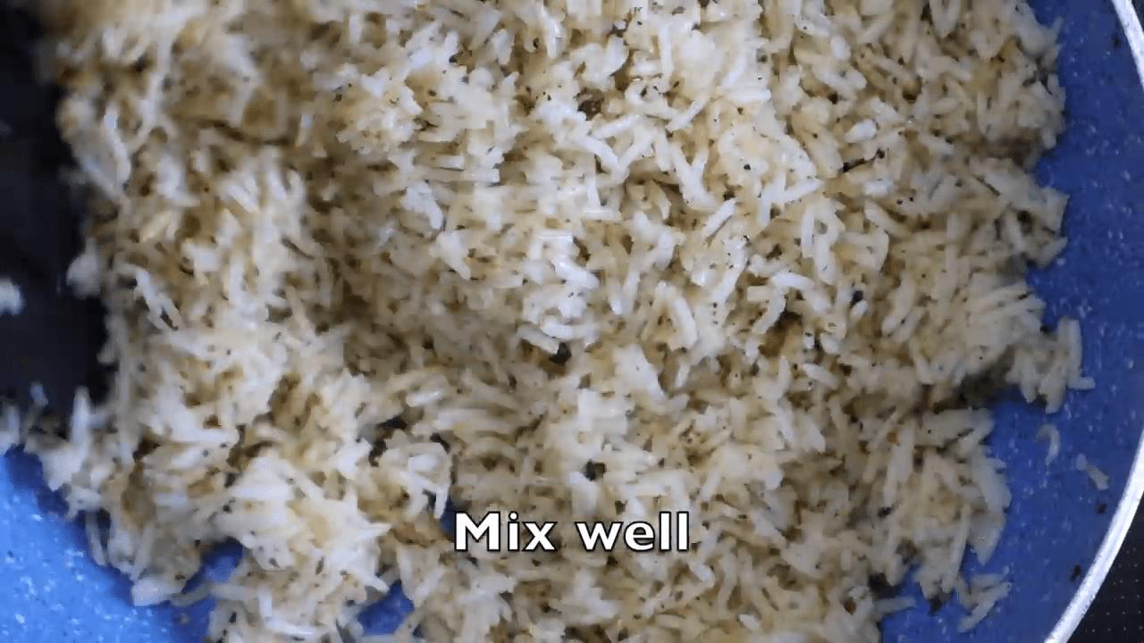 Tiranga Rice step-2