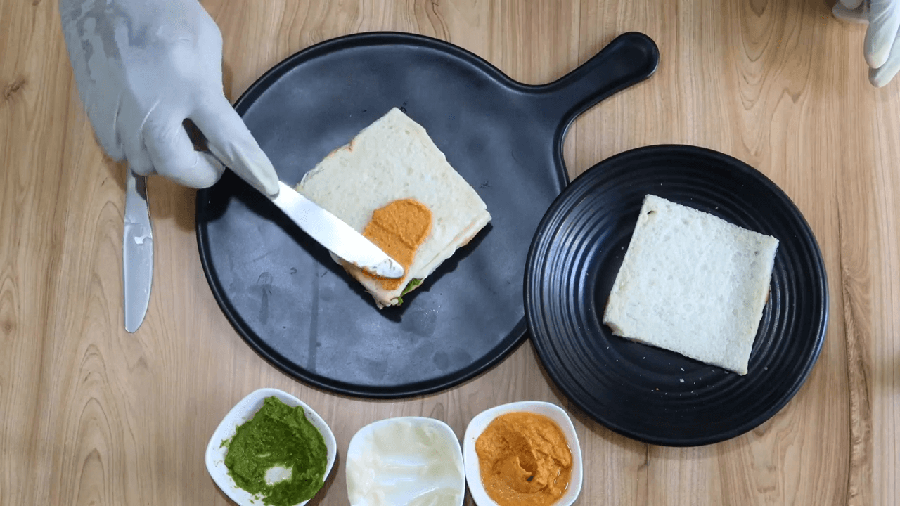 Tiranga Sandwich step-2