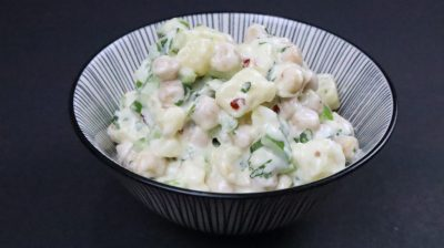 potato chickpea salad