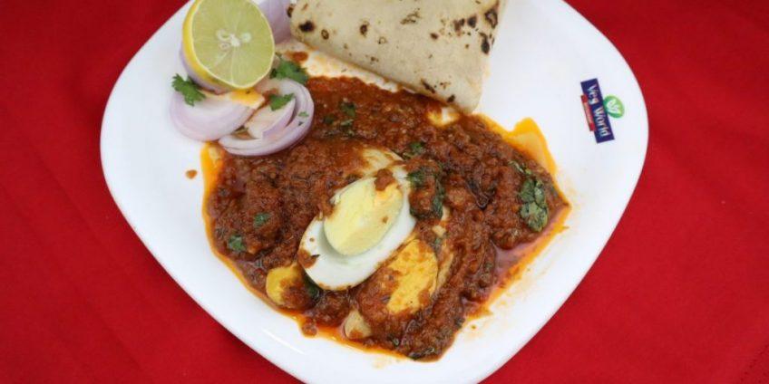 Peri Peri Egg Curry