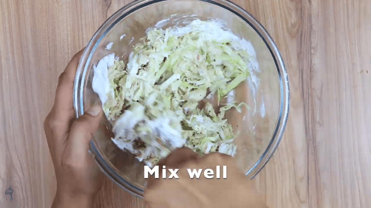 Chicken Mayonnaise Open Toast step-1