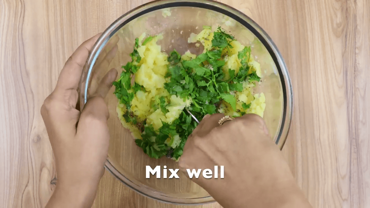 Mashed Potato Pomegranate Salad step-2