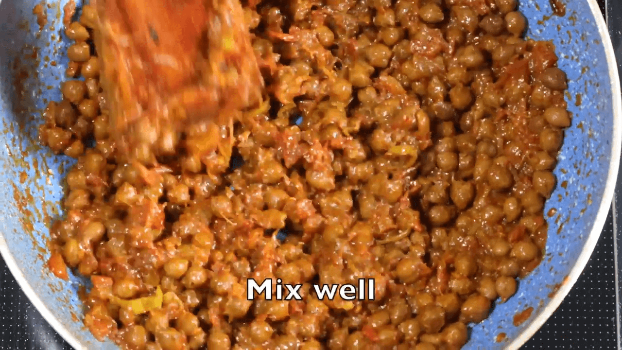 Desi Chana Masala step-3