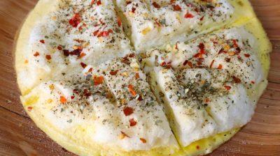 Fluffy Omelet Pizza