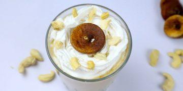 kaju anjeer milkshake