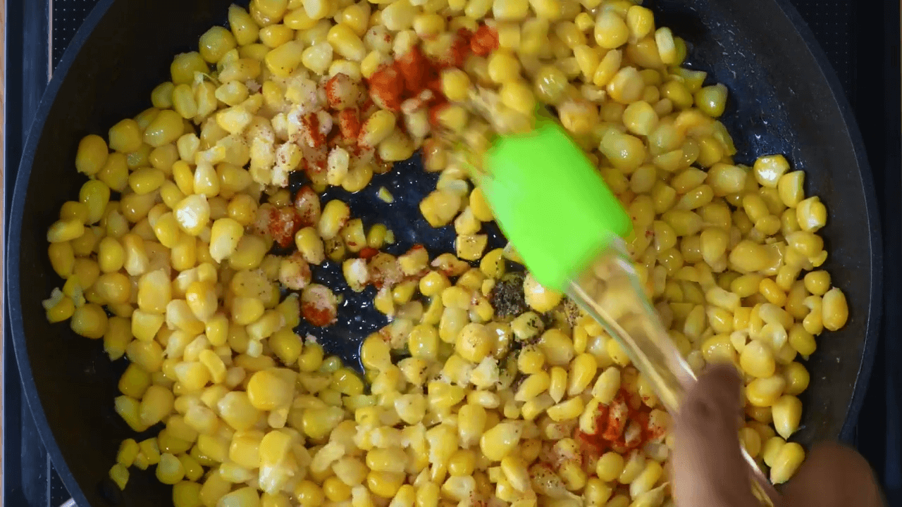 Chatpata Corn Chaat step-1