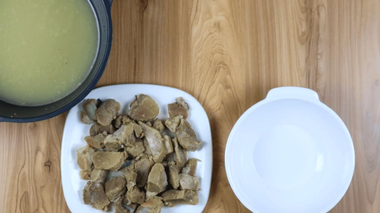 Arabic Mutton Harees step-4