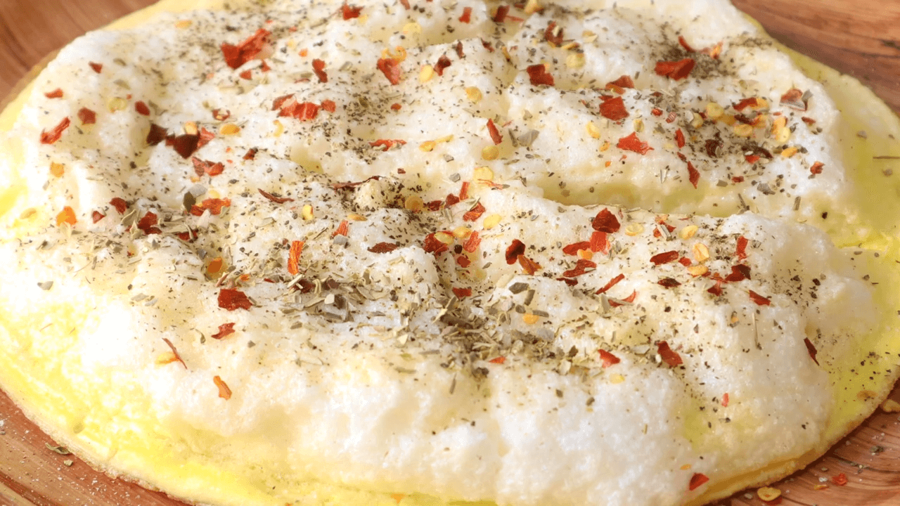 Fluffy Omelet Pizza step-6