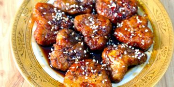teriyaki chicken hearts