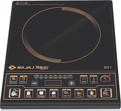 bajaj majesty icx 7 induction cooktop