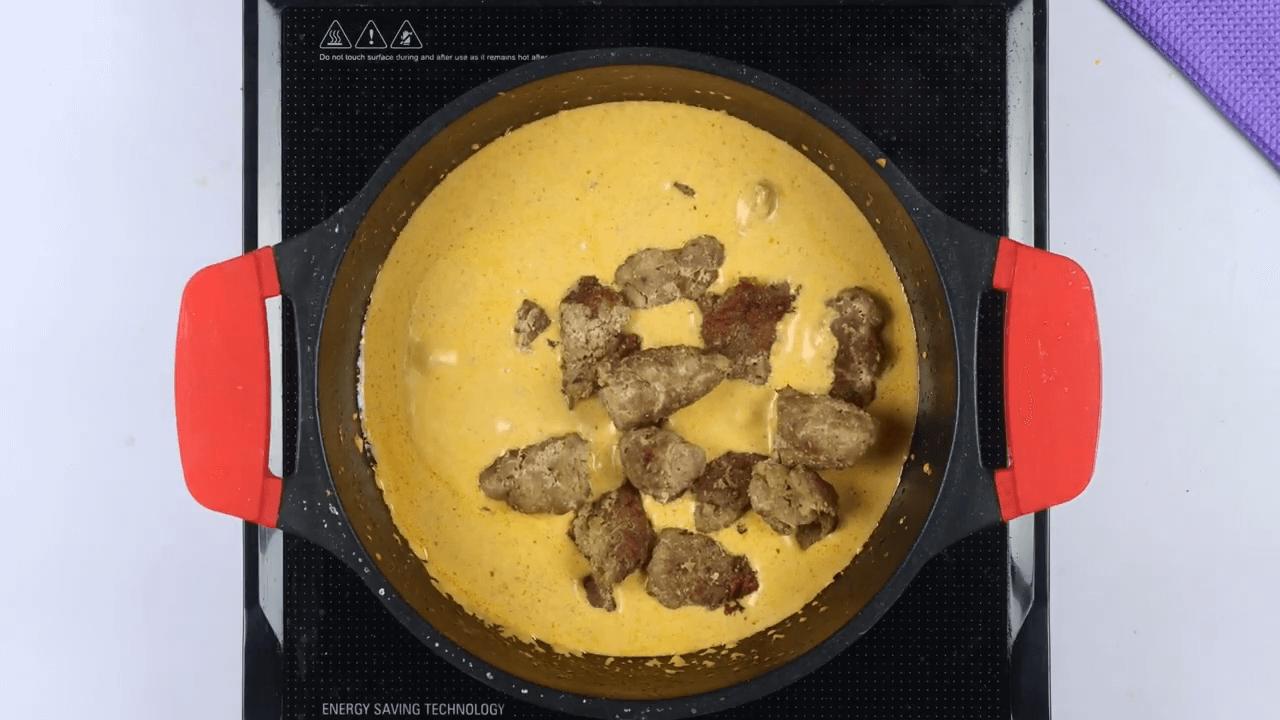 Mutton Seekh Kabab Curry step-6