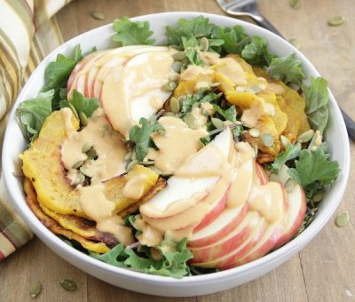 autumn-salad-with-creamy-pumpkin-dressing
