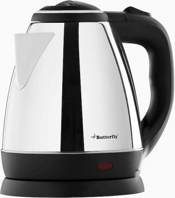 butterfly-EKN-1.5-litre-water-kettle- (Silver with Black)- &-wave-1.2-litre-multi-cooker-(Silver with Black)-combo