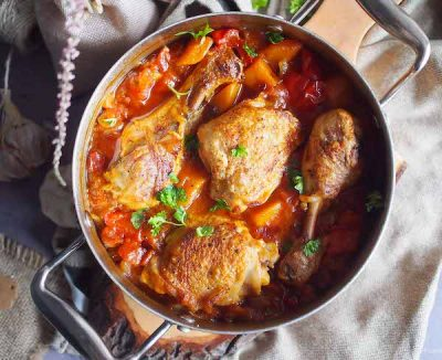 chicken-baked-with-pumpkin-and-bell-pepper