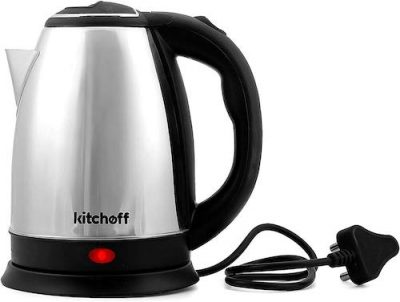 kitchoff-automatic-stainless-steel- electric-kettle-Kl2-black